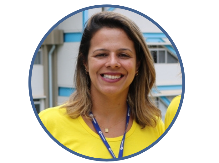 Solange Costa é colaboradora no setor de Recursos Humanos doCampussede e está na Instituição há 15 anos.