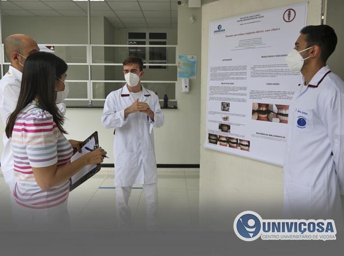 Notícia - Evento que concluiu aprimeira Clínica Integrativa Dentística-Periodontia do curso de