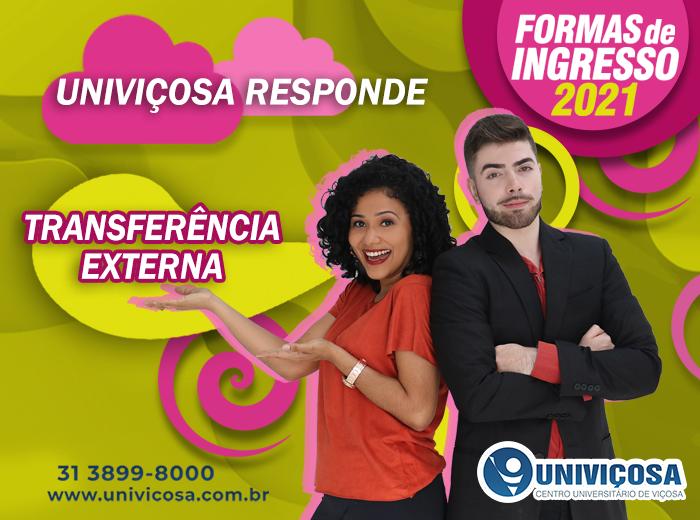 O aluno que deseja ingressar na UNIVIÇOSA por meio de Transferência Externa, recebe diversas facilidades na Instituição!