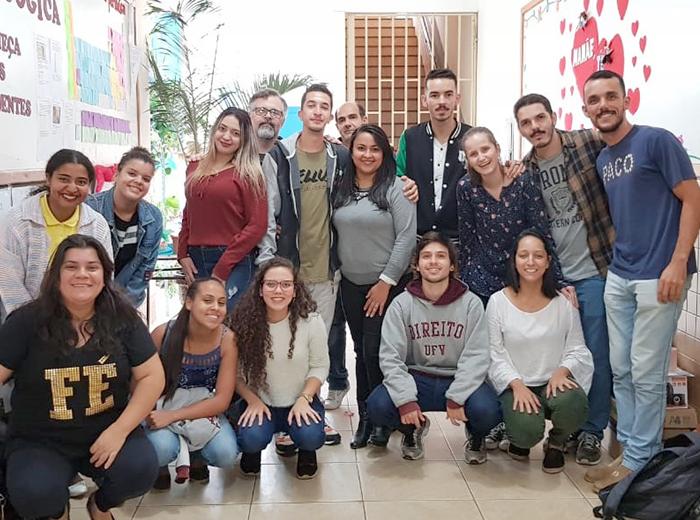 A ação desenvolvida pelo CEJUSC da comarca de Viçosa atendeu alunos que já vivenciaram novos arranjos familiares.
