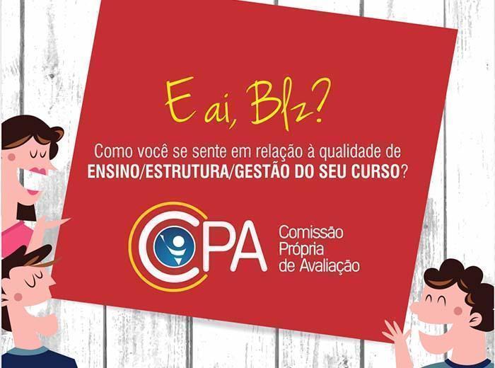 A Comissão Própria Avaliadora (CPA) deu o recado: Está começando mais uma pesquisa de satisfação da Univiçosa envolvendo todo o público acadêmico da Instituição. Participe!