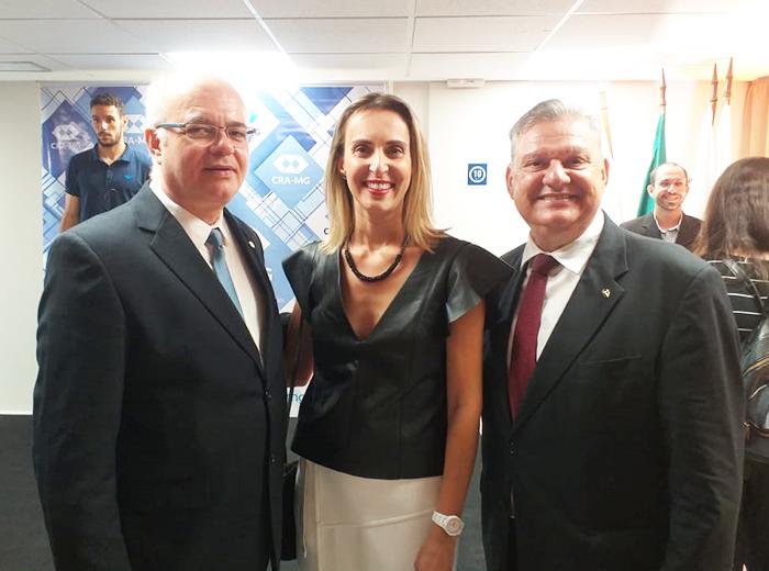 A festividade foi realizadana sede do Conselho Regional de Administração de Minas Gerais (CRA-MG)
