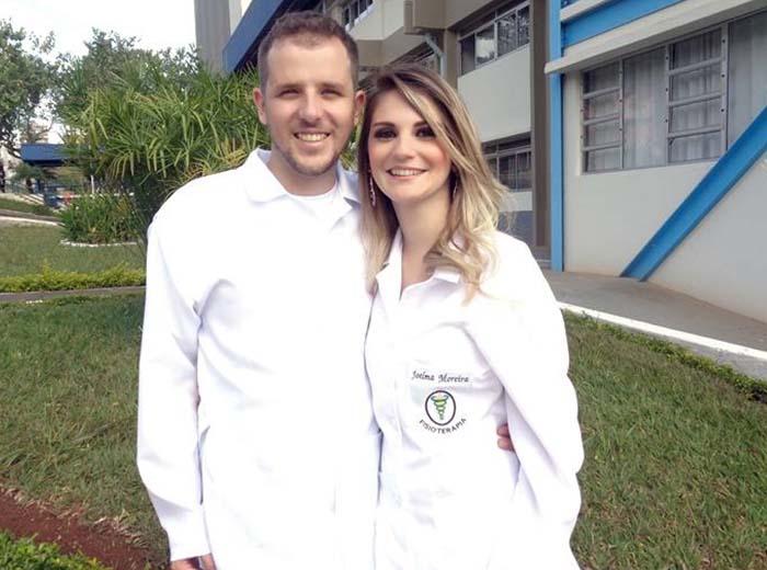 Após colarem grau na Univiçosa, em dezembro de 2016, os fisioterapeutas Joelma Barbosa e Léo Marques resolveram empreender no segmento. Os dois inovaram em qualidade e organização do serviço