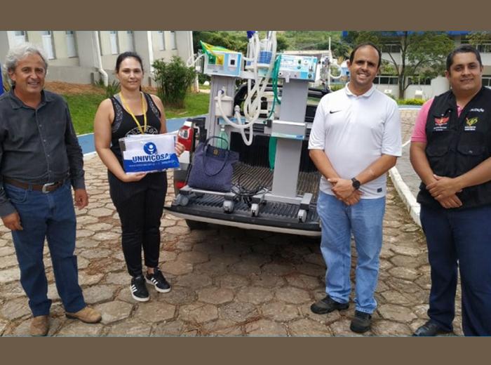 Os equipamentos vão ajudar a compor a nova Unidade de Terapia Intensiva (UTI) que está sendo montada para os possíveis infectados pelo novo coronavírus que precisarem desse tipo de tratamento.