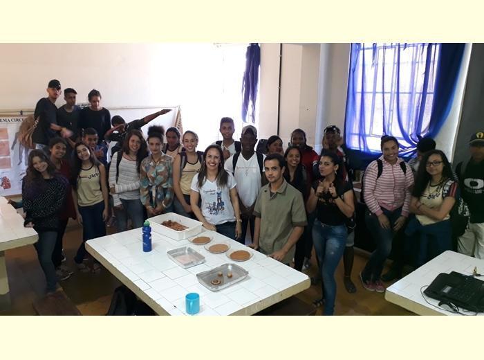 O projeto fechou o mês de agosto com apresentações na cidade de Guaraciaba.