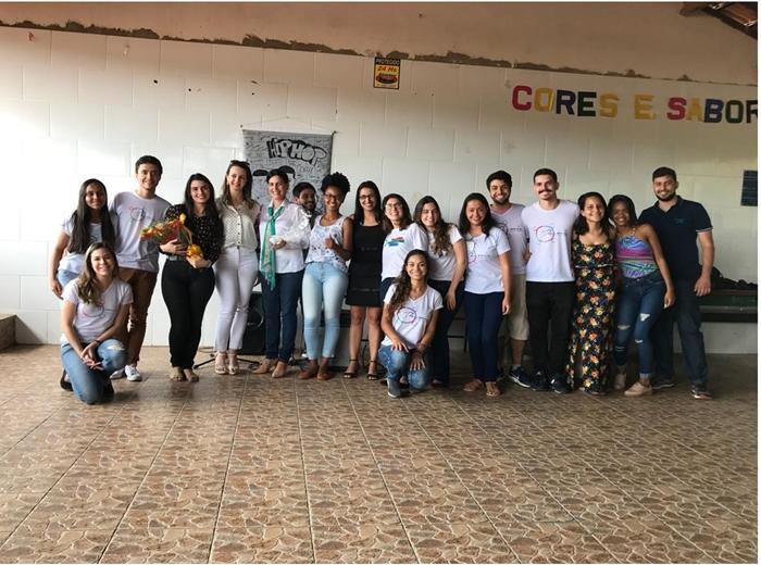 As atividades foram realizadas naEscola Estadual Santa Rita de Cássia.