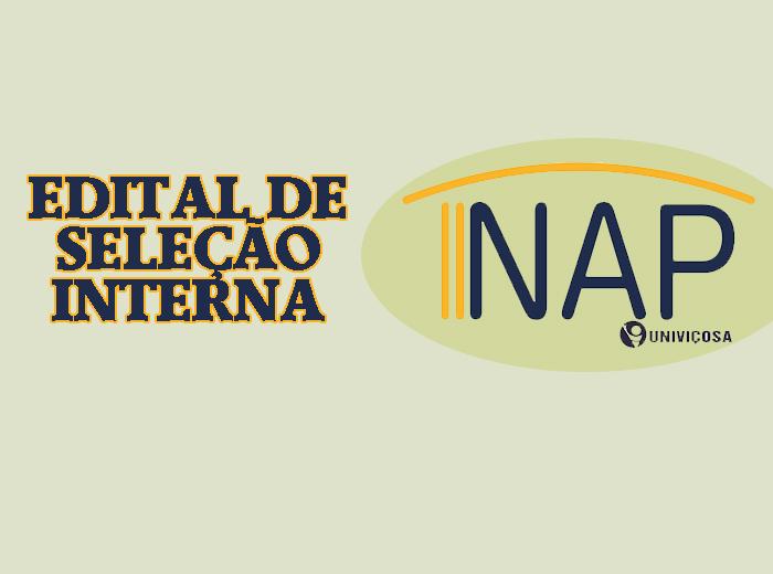 As inscrições para o processo seletivo do NAP - Núcleo de Apoio Psicopedagógicopodem ser feitas até o próximo dia 20.