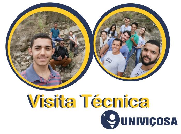 Os alunos dos cursos de Engenharia Ambiental e de Engenharia Civil foram acompanhados pela professora Luana Pereira