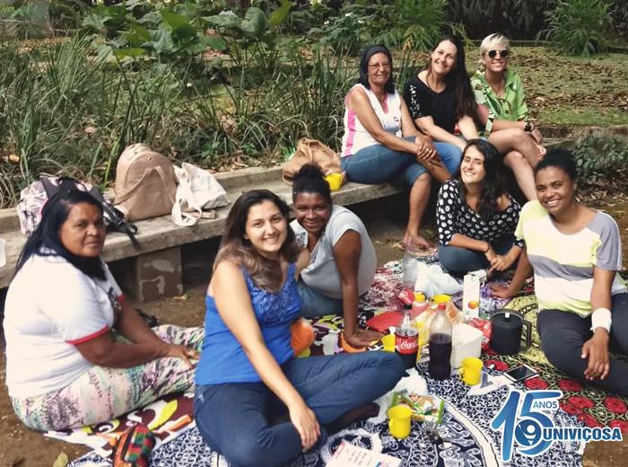 As ações consistem na promoção da saúde mental das mulheres do bairro Bom Jesus.