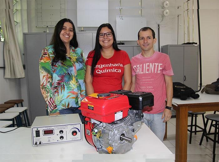 O trabalho é orientado pelo Professor Fábio Celso de Oliveira e pela co-orientadora Professora Raquel Moreira Maduro de Carvalho