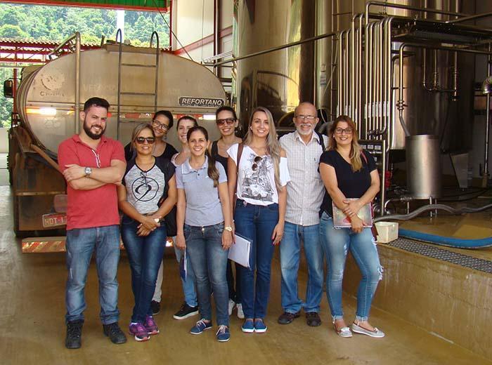 Unidade visita produz o doce de leite mais famoso do Brasil. Atividade observou aspectos de licenciamento ambiental