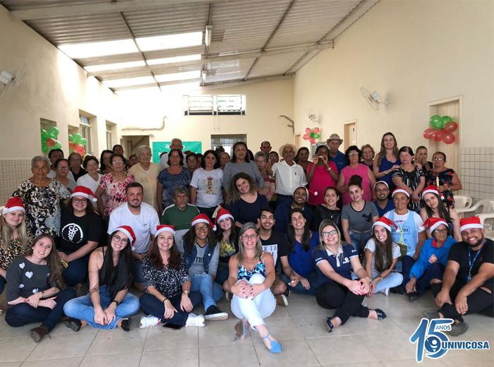 As ações desenvolvidas, em parceria com a equipe da Estratégia Saúde da Família do bairro Silvestre, têm o intuito de promover a saúde e prevenir doenças.