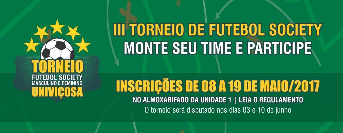 Terceiro Torneio de Futebol Society  3f2b988ebbc37